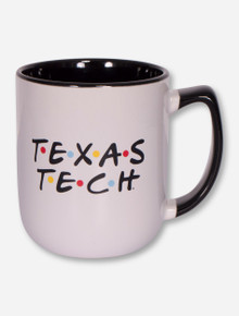 Texas Tech Red Raiders Friends Two-Tone Coffee Mug