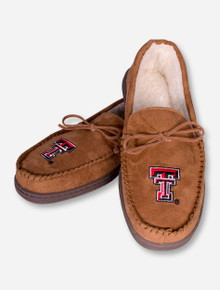 Texas Tech Red Raiders Double T Velour Moccasins