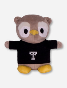 Texas Tech Red Raiders Plush Owl in Tech T-Shirt