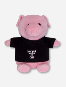 Texas Tech Red Raiders Plush Pig in Tech T-Shirt