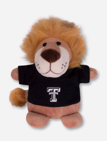 Texas Tech Red Raiders Plush Lion in Tech T-Shirt
