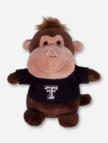 Texas Tech Red Raiders Plush Monkey in Tech T-Shirt