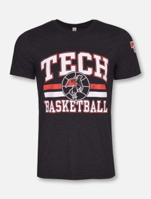 Texas Tech Red Raiders Vintage Big Baller Basketball T-Shirt