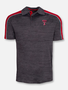 "Arena Texas Tech Red Raiders ""Skip"" Charcoal Polo"