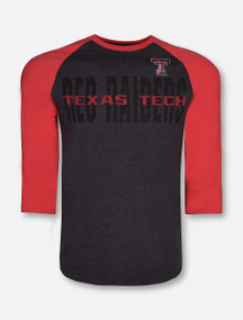 Arena Texas Tech Red Raiders Steal Home 3/4 Sleeve Tshirt
