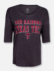 "Arena Texas Tech Red Raiders ""Skeeter"" 3/4 Sleeve Shirt"