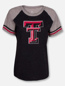 "Arena Texas Tech Red Raiders ""Southbend Blue Sox"" Oversized Short Sleeve Shirt"