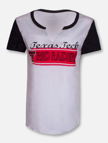 "Arena Texas Tech Red Raiders ""Hooch""V-Neck Short Sleeve Shirt"