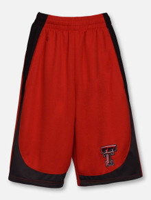 "Arena Texas Tech Red Raiders ""Hall of Fame"" YOUTH Gym Shorts"