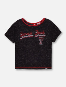 "Arena Texas Tech ""Swimming Pool"" TODDLER  Heathered Black T-Shirt"