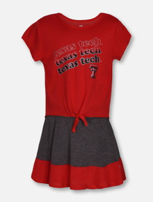 "Arena Texas Tech Red Raiders ""Forever""  TODDLER Shirt and Skort Set"