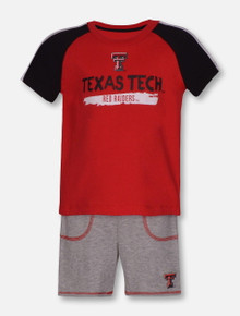 "Arena Texas Tech Red Raiders ""Square"" INFANT Shirt and Short Set"
