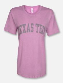 Classic Texas Tech Red Raiders Grey Arch T-Shirt