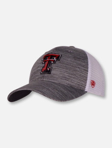 "Top of the World Texas Tech Double T ""Warmup"" Mesh Snapback Cap"