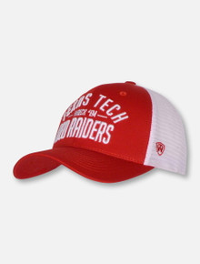 "Top of the World Texas Tech Double T ""Trainer"" Mesh Snapback Cap"