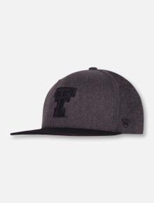 "Top of the World Texas Tech Double T ""Dim"" Snapback Cap"