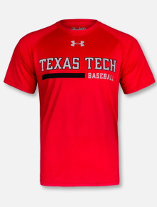Under Armour Texas Tech Red Raiders 2018 Baseball Sideline T-Shirt