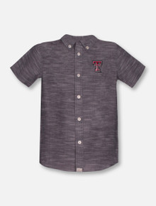 """Texas Tech Red Raiders Garb """"Wyatt"""" YOUTH Button Up Polo"""