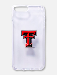 Speck Texas Tech Red Raiders Double T on Clear Cell Phone Case