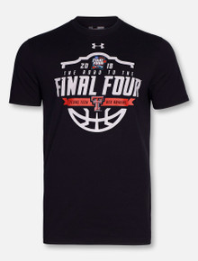 Under Armour Texas Tech Red Raider 2018 Road to Final Four T-Shirt