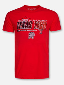 Texas Tech Red Raiders 2018 NCAA Road to San Antonio T-Shirt