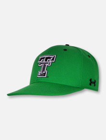 Under Armour Texas Tech Red Raiders Shamrock Stretch Fit Cap