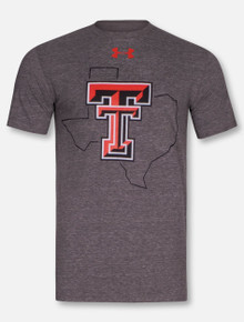 Under Armour Texas Tech Red Raiders State Pride Triblend T-Shirt