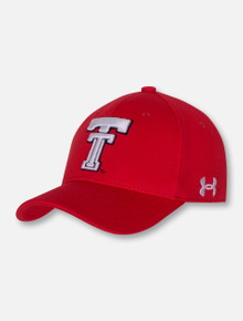 Under Armour Texas Tech Red Raoders Throwback Red YOUTH Cap