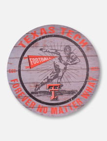 "Texas Tech Red Raiders ""Forever No Matter What""  Wall Art"