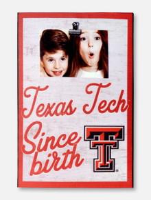 "Texas Tech Red Raiders ""Since Birth""  Wall Art"
