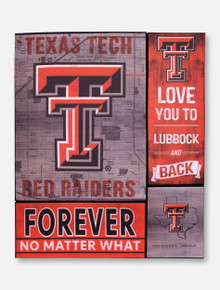 Texas Tech Red Raiders Road to Victory Canvas Set Wall Art