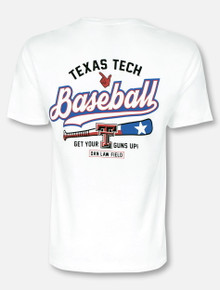 Texas Tech Red Raiders State Batter T-Shirt