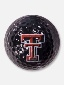 Texas Tech Red Raiders Double T Black Golf Ball