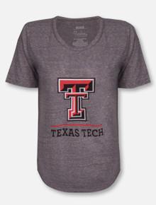 "Pressbox Texas Tech Red Raiders Double T ""Kenzie"" T-Shirt"