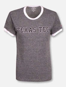 League Texas Tech Red Raiders Texas Tech Ringer T-Shirt