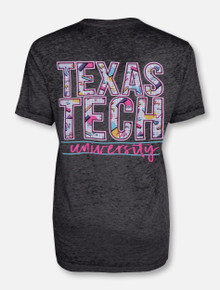 """Texas Tech Red Raiders  """"To the Max"""" Mineral Washed T-Shirt"""