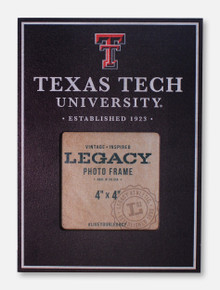 "Legacy Texas Tech Red Raiders Texas Tech 4"" x 4"" Vertical Photo Frame"
