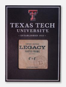 """Legacy Texas Tech Red Raiders Texas Tech 4"""" x 4"""" Vertical Photo Frame"""