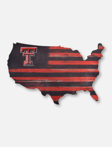 Legacy Texas Tech Red Raiders Texas Tech USA Wall Mount Cutout Decor