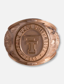 """Texas Tech Red Raiders Texas Tech """"Strive For Honor"""" Alumni Ring Paperweight"""