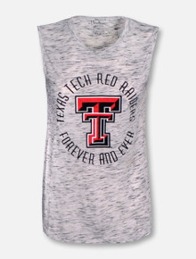 "Pressbox Texas Tech Red Raiders ""Days and Nights"" Split Back Tank Top"