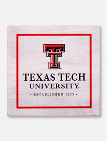Legacy Texas Tech Red Raiders Texas Tech Established 1923 Wooden Block Decor
