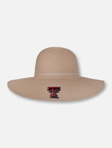 "LogoFit Texas Tech Red Raiders ""Madeline"" Woven Sun Hat"
