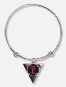 FTH Texas Tech Red Raiders Texas Tech Hallow Triangle Cuff Bracelet