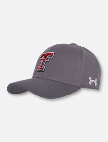 Under Armour Texas Tech Red Raiders Double T and Texas Tech on Back Cap