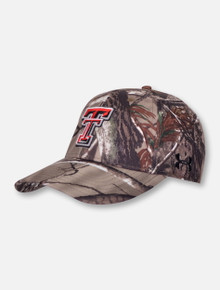 Under Armour Texas Tech Red Raiders Camo Double T Adjustable Cap