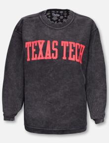 "Pressbox Texas Tech Red Raiders ""Campus"" Corduroy Long Sleeve Tee"
