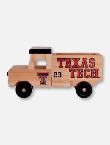 Texas Tech Red Raiders Wooden Truck