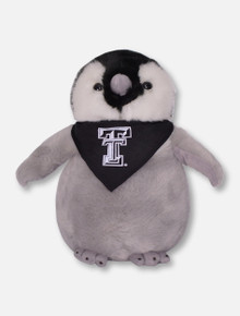 Texas Tech Red Raiders Black and Grey Penguin Plush Toy