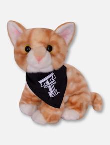 Texas Tech Red Raiders Tabby Kitten Plush Toy